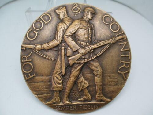1922 American Legion School Medal/paperweight Medallic Arts