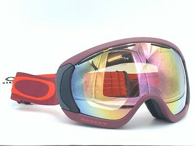 Oakley Canopy Snow Ski Snowboard Goggles Burnt Red W/ VR50 Pink (Oakley Goggles Pink)
