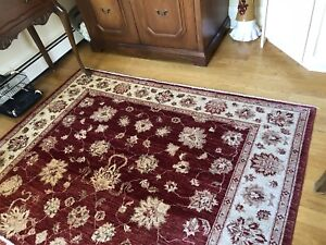 6x8 Wool Rug From Elte MKT -- Perfect Condition