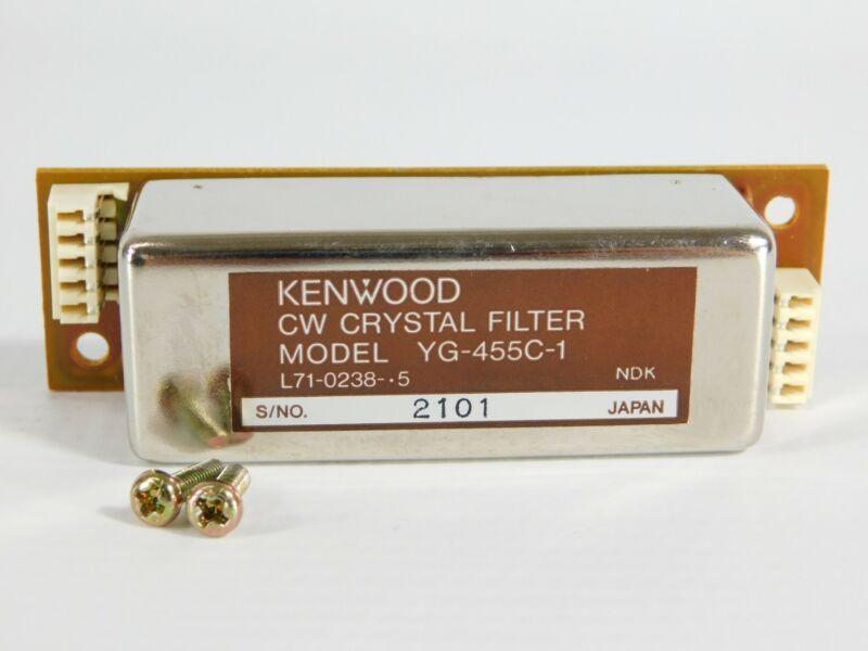 Kenwood YG-455C-1 500Hz CW Filter for TS-940S 930S 450S 850S (with screws, nice)