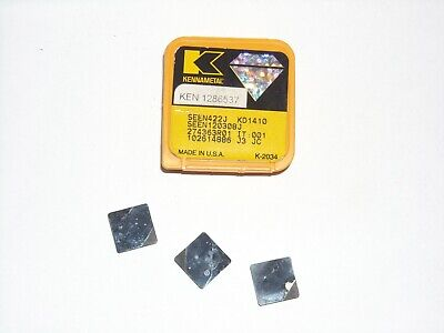 3 Kennametal Seen 422 Kd1410 Diamond Insert