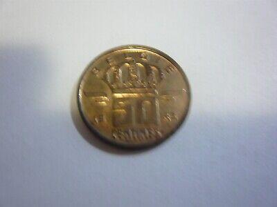 50 centimes belgique pièce - belgie munt 1983
