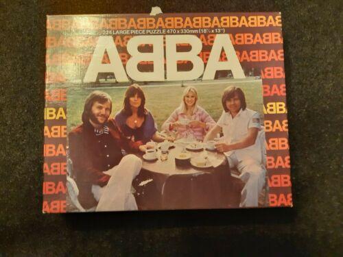 ABBA  - PUZZLE-  polar 1976 - whitman uk  - complete 224 pieces
