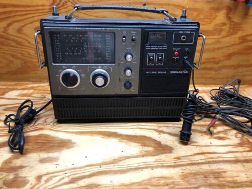 VINTAGE WORLDSTAR WORLD STAR MULTI BAND RECEIVER RADIO MG-6000 TESTED WORKING