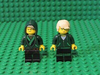 Lot of 2 LEGO Ninjago Movie minifigures Ninja minifigs Lloyd L2