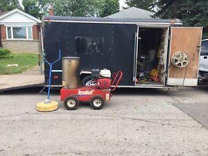 14' foot Hallmark trailer