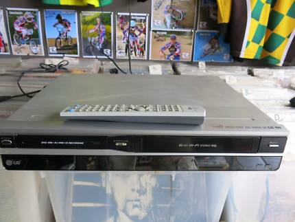 LG VCR DVD Combo Video Cassette Recorder Player Record VHS to DVD Stanhope Gardens Blacktown Area Preview