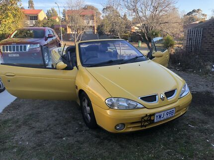 Renault Megane Convertible 2004, 260***kms drive Jerrabomberra Queanbeyan Area Preview