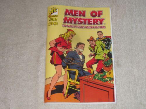 MEN OF MYSTERY 102  AC COMICS VF/NM! GOLDEN AGE REPRINTS MOON GIRL MISS MASQUE