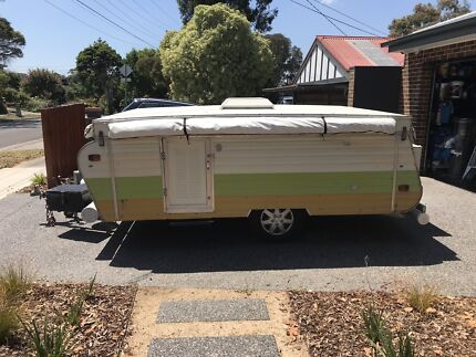 12ft caravan pop-top/camper Heathmont Maroondah Area Preview