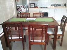 Great looking table and chairs 6 months old Homebush Strathfield Area Preview