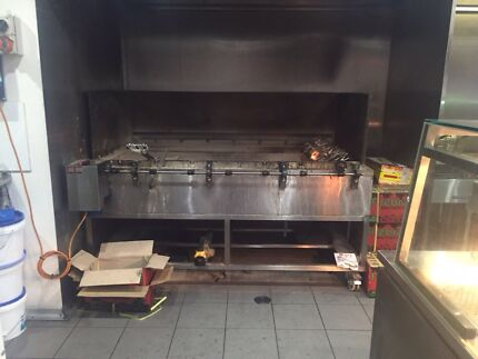 Charcoal chicken machine for sale! Newington Auburn Area Preview