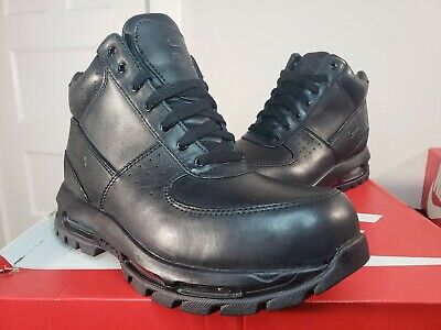 Nike Air Max Goadome ACG Black Leather Boots 599474 050