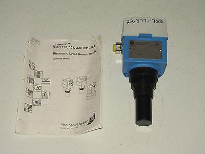Endress Hauser Prosonic T Fmu230a-aa22 Ultrasonic Level Sensor -new-