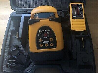 Cstberger Lm1000x Tripodrod Pac Horizlvert Rotary Laser