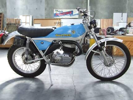 1974 BULTACO ALPINA 250 PRO RESTORATION VERY COLLECTABLE BIKE VGC