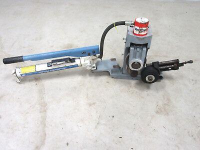 Ridgid 918 Hydraulic Roll Groover 2 - 12 Capacity Mounts On 300 Pipe Threader