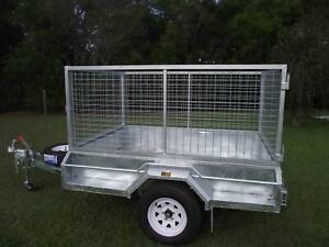 Heavy Duty 8 x 5 1.4 ton Braked with Cage Wauchope Port Macquarie City Preview