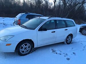 2000 Ford Focus wagon. Low kms