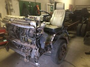 """1986 gmc /Isuzu """"Cab over"""" COE chassis and Turbo Diesel"""