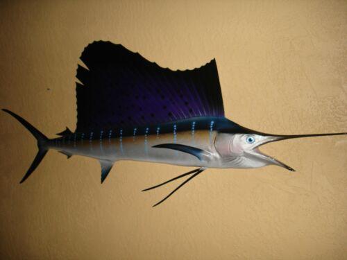 "72"" Sailfish Half Fish Mount Replica - 10 Business Day Production Time"
