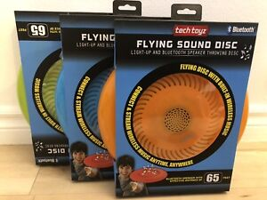 Tech Toyz Flying Sound Disc w/ Bluetooth Speaker