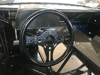 "13.5"" Super Max Lightweight Drag Racing Performance Steering Wheel 5-Bolt-B"