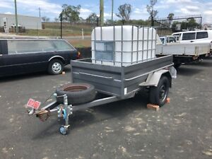 7 X 4 BOX TRAILER WITH FREE WATER POD Hatton Vale Lockyer Valley Preview