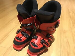 Jr. ski boots for boys and girls (ages 6-10)