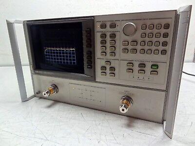 Hp Hewlett Packard Agilent 8720b Network Analyzer 130 Mhz To 20 Ghz 2-channel
