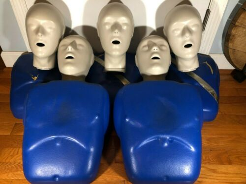 Training CPR Prompt Manikin Set - Adult CPR Dummies w/ Heads