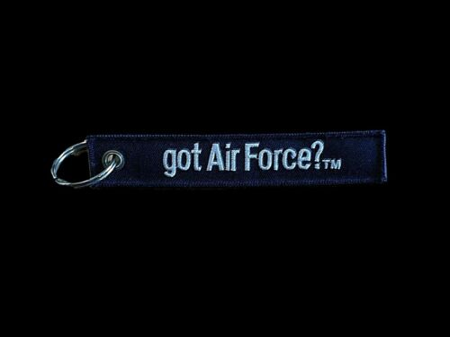 """U.S MILITARY AIR FORCE KEY CHAIN KEY FOB 5 1/2"""" X 1"""" INCHES YOU BET YOUR USA"""