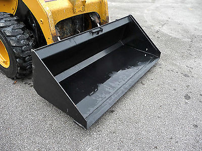 Bobcat Cat Gehl Skid Steer Attachment 72 Low Profile Smooth Bucket - Ship 199