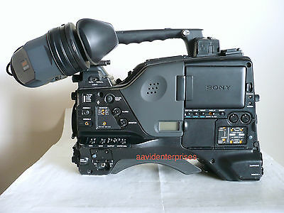 Sony XDCAM PDW-700 XDCAM HD Camcorder with HDVF-20A, CBKZ-MD01 & CBK-HD01 option for sale  Shipping to India