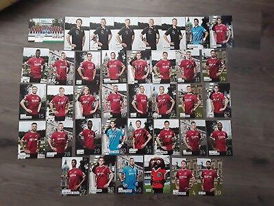 Hannover 96 HSV Hamburger SV 2016/17 Autogrammkarten 38 x BVB 09 BMG DFB FCB S04 gebraucht kaufen  Stadthagen
