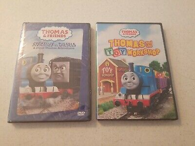 Thomas- Steamies vs. Diesels and Thomas and the Toy Workshop