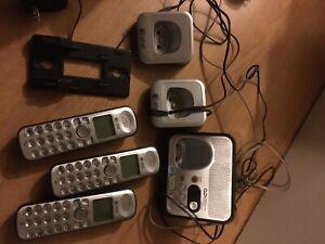 Téléphone avec répondeur at&t