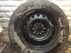 4 Michelin X Ice winter tires, off Toyota camery