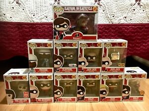 The Incredibles Funko Pop Set - ACCEPTING OFFERS