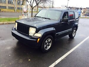 2008  Jeep Liberty  4X4 fully Loaded 3499$