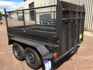 TANDEM 8X5 HI SIDE RAMP+600MM CAGE+1Y PRIV REGO $3000 ON ROAD Minchinbury Blacktown Area Preview