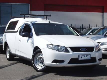 2010 Ford Falcon FG Ute  *** FACTORY GAS ***  $9,650 DRIVE AWAY Footscray Maribyrnong Area Preview
