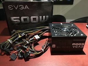 EVGA 80+ White 500w Power Supply