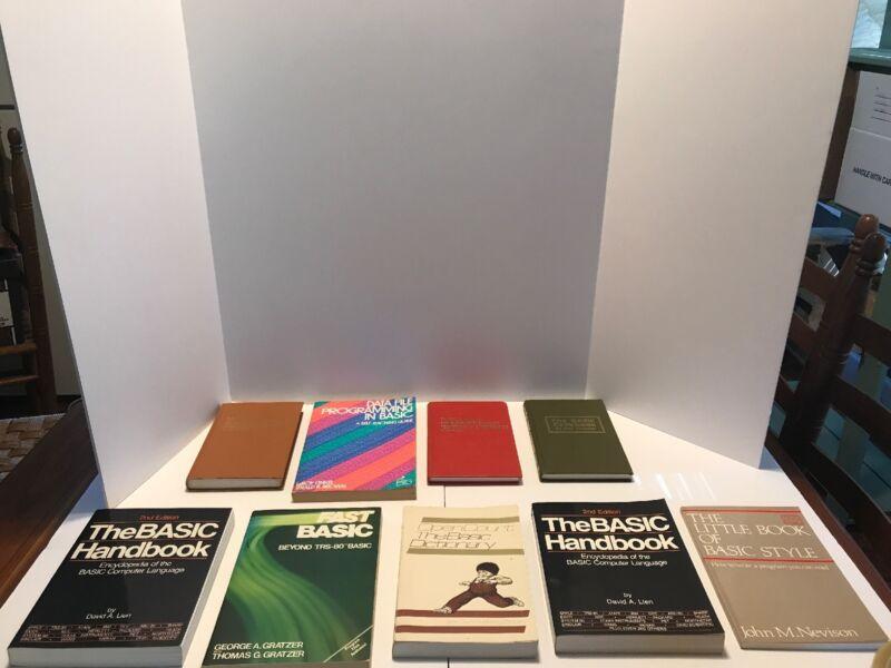 Vintage Computer Language Books (Basic)