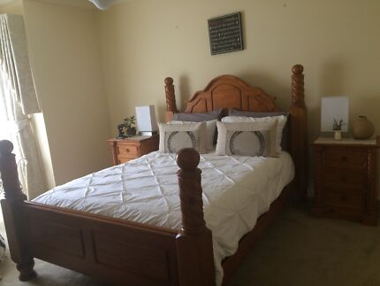Bedroom Suite Complete- Queen Size Beaconsfield Cardinia Area Preview