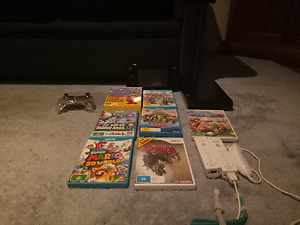 Nintendo Wii U 7 games and controllers Greensborough Banyule Area Preview