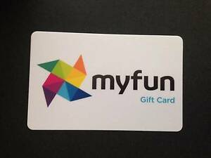 myfun Gift Card - Value $200 (Selling for $160) The Junction Newcastle Area Preview