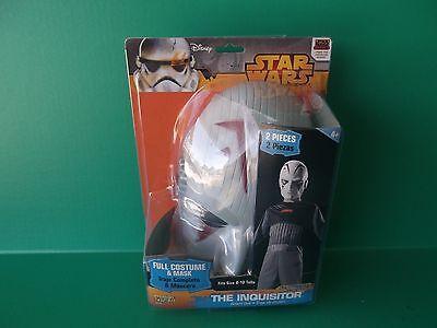 Sith Inquisitor Costume (Disney Star Wars Rebels Sith Inquisitor Costume Mask Jumpsuit Child