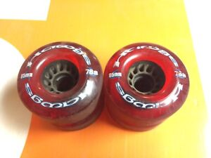 Skateboard wheels 6 sets + hardware and some bearings 120