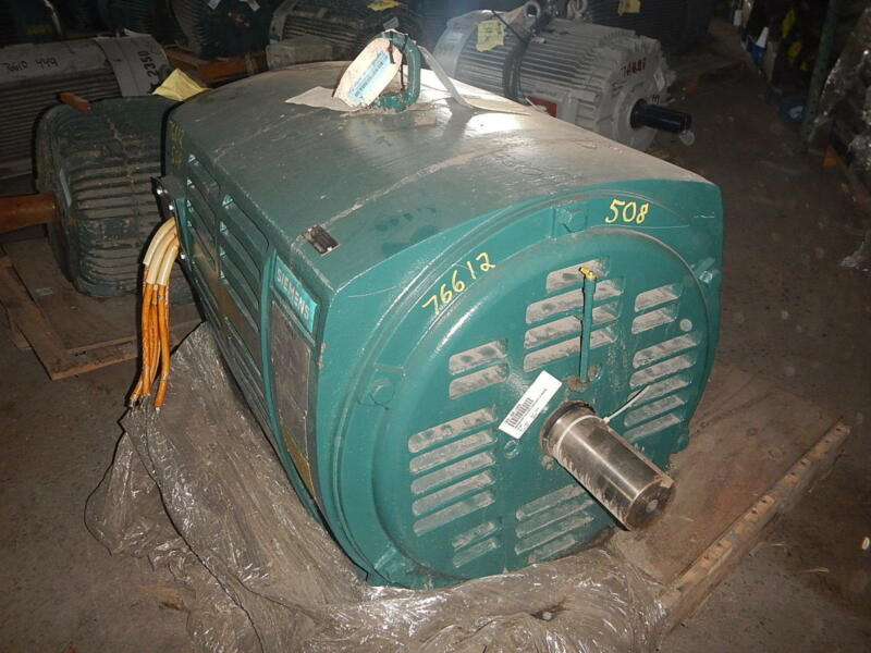 800 HP Siemens Electric Motor, 1800 RPM, 508S Frame, DP, 2300 / 4000 V